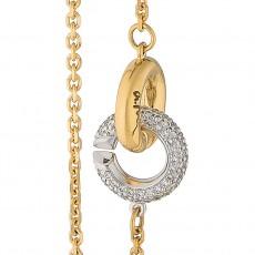 Браслет из золота 750 пробы с бриллиантами