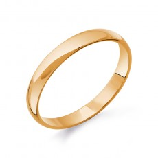 Классическое обручальное кольцо 3мм