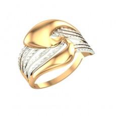Кольцо из красного золота 585 пробы без вставок