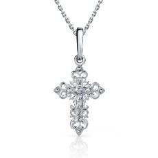 Православный крест из платины