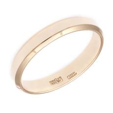 Обручальное кольцо со скошенными стенками