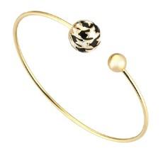 Золотой браслет с эмалью бренда Roberto Bravo