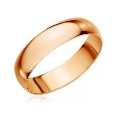 Классическое обручальное кольцо, ширина 5 мм