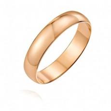 Классическое обручальное кольцо 4 мм