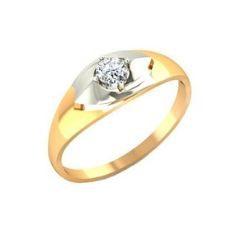 Золотое кольцо с фиантом