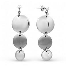 Серебряные серьги бренда MADDE