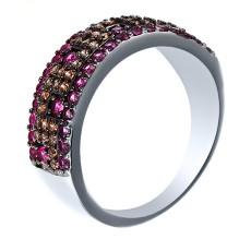 Кольцо с кубическим цирконием