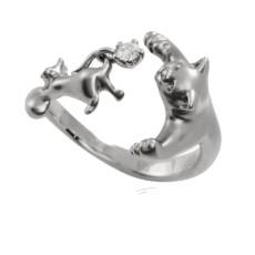 Кольцо Кошка за мышкой