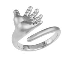 Кольцо Ладошка