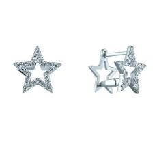 Двусторонние серьги Звезды
