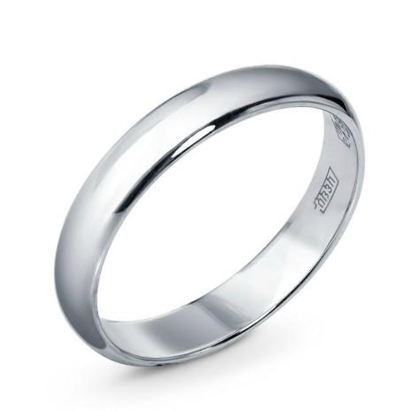 Обручальное кольцо из платины