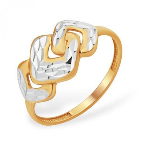 Кольцо из золота 585 пробы без вставок